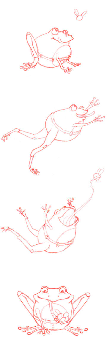 Frog Character Sketches