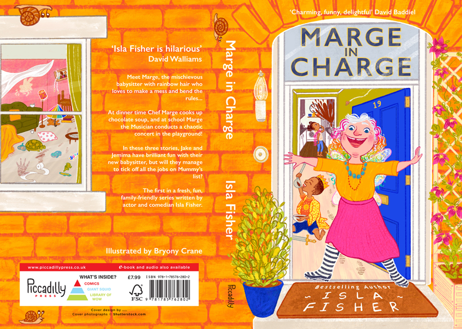 Marge in Charge Cover Illustration