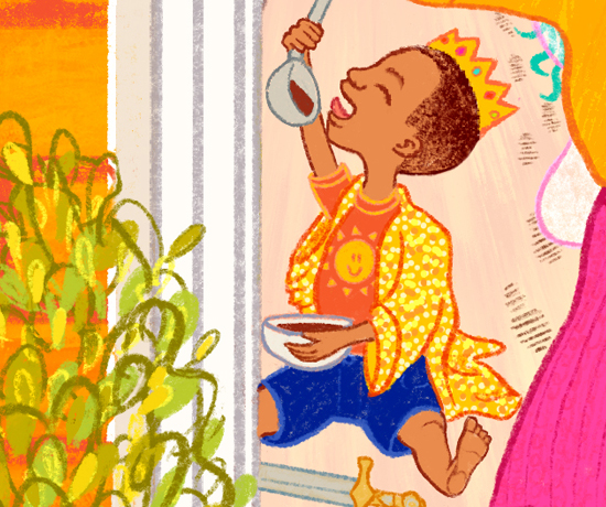 Marge in Charge Cover Illustration Detail Crop